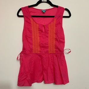 Calypso St. Barth for Target Pink Babydoll Tank